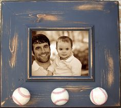 Vintage baseball nursery--is like to put Clint's old baseball pic above Saylors crib!