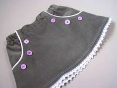 Made by Me. Shared with you.: The Piped Pocket Infant Skirt Pattern and Tutorial