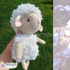 Educational and interesting ideas about amigurumi, crochet tutorials are here. Crochet Sheep Free Pattern, Free Crochet, Crochet Patterns, Crochet Tutorials, Crochet Ideas, Amigurumi Doll, Amigurumi Patterns, Crochet Toys, Crochet Baby