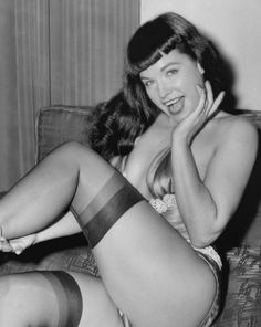 Bettie pin up page rare
