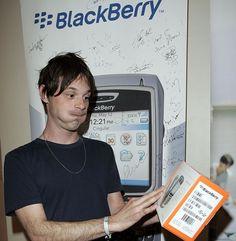 Scoot McNairy at the BlackBerry 8700c Self Magazine Lounge - Jan 20, 2006, Park City. (photo Donato Sardella) - Edited