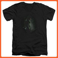 Arrow CW Superhero TV Series In The Shadows Adult V-Neck T-Shirt Tee - Superheroes shirts (*Partner-Link)
