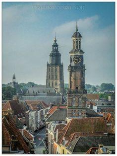 Deze foto is genomen vanaf de Broederenkerktoren