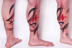 20 Flawless Brush Stroke Style Tattoos