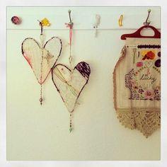 dottie angel: a hanging 'heart~catcher' how~to...