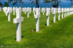 When I first saw all the crosses my first thought was: WOW look how perfectly lined up the are.  My second though: OMG look HOW MANY THERE ARE!  Very emotional place.