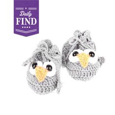 Owl Booties - Daily Find