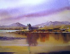 Connemara Reflections by Roland Byrne Connemara, Reflection, Bb, Mountains, Wall Art, Painting, Travel, Viajes, Painting Art