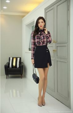 Korean Women`s Fashion Shopping Mall, Styleonme. Urban Outfits, Casual Outfits, Cute Outfits, Fashion Outfits, Womens Fashion, Fashion Hair, Classy Outfits, Korean Fashion Trends, Korean Street Fashion