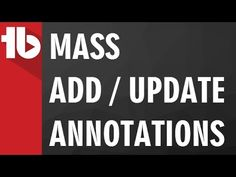 Mass Copy and Update Annotations using TubeBuddy Hd Video, Youtubers, Ads, Education, Videos, Music, Star, Musica, Musik