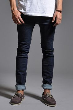 Dr Denim Jeans Snap Light Weight Rinsed Blue