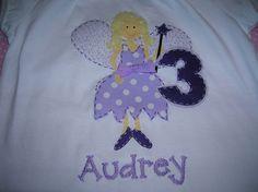 Personalized Fairy Princess in Purple