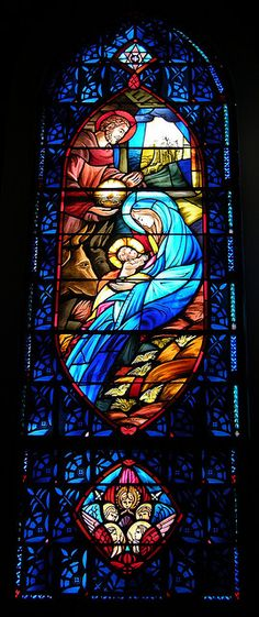 Stained glass windows in the sanctuary of First Lutheran Church Knoxville, TN | Flickr - Photo Sharing!