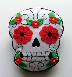 Day of the Dead cushion. x