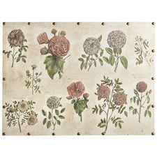 Botanical Blooms Art - Linen