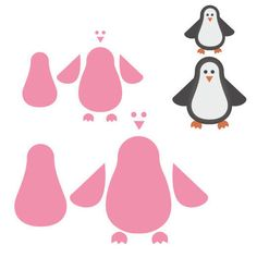 Marianne Design Collectables Dies - Penguin COL1331
