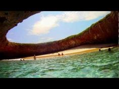 "How to visit ""Hidden Beach"": The world's most beautiful bomb site! 