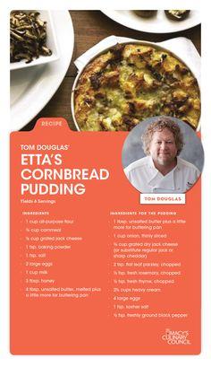 Macy's Culinary Council Chef Tom Douglas' Etta's Cornbread Pudding
