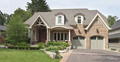 David Small Designs is an award winning custom home design firm. See a portfolio of our The Muskoka Room project Custom Home Designs, Custom Homes, Modern Farmhouse Exterior, Girl House, Design Firms, Traditional House, Curb Appeal, House Tours, Architecture Design