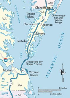 A Special Place in Virginia, the Eastern Shore.  Different pace of life there.  Great trip to see the ships come through the channel headed to Norfolk or Baltimore as well as the many fields along Rt. 13.  Goal is Chincoteague--great place to visit.