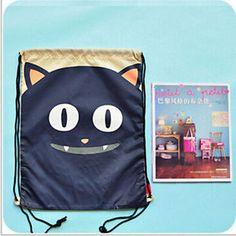 Unisex-String-Drawstring-Backpack-Tote-Bag-School-Bookbag-Sport-Pack-new-whg4
