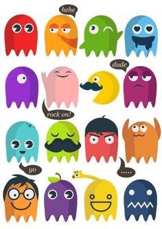 Pacman & Co by Mary Anne