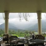 St. Regis, Kauai - where we had our 20th wedding anniversary dinner at sunset. Incredibly beautiful view...so romantic.