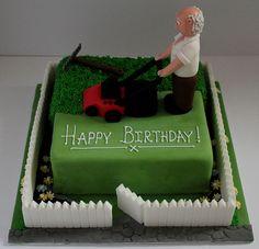 Gardeners birthday cake!