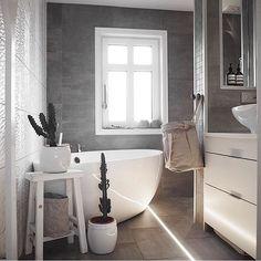 Bathroom goals ➰ 📷 @by_betina