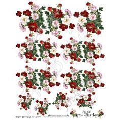 Papier Decoupage - Pisanki  Tw-61
