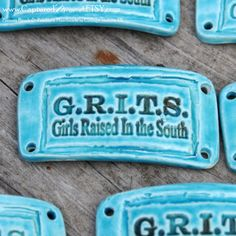 Girls Raised in the South Grits Pottery Western by CapturedMoments, $5.25