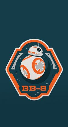 Star Wars BB-8. Tap to see more Star Wars Force Awaken movie iPhone wallpapers! Star Wars iPhone Wallpapers, backgrounds, fondos. - @mobile9