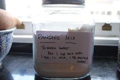 Make Your Own (MYO) Pancake Mix - Rachael Ray