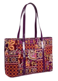 fd2f7db37a love the dark purple plum color! idea to treat myself  ) Vera Bradley Tote