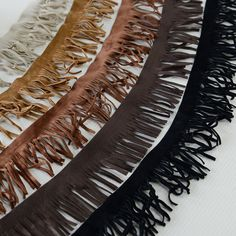5Yards/lot 4.5cm  Tassel Ribbon Lace Fabric  5 Color Tassel Fringe Trimming DIY Garment Accessories RS746 #Affiliate