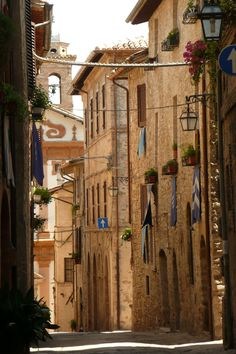 The Picturesque village of Bevagna.