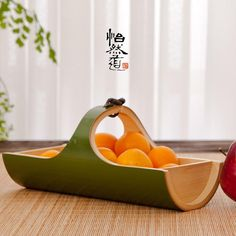natural bamboo decorative trays