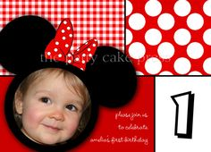From my etsy shop :)  Minnie Mouse Party invite.  The Patty Cake Press