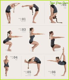 cool Yoga poses printable