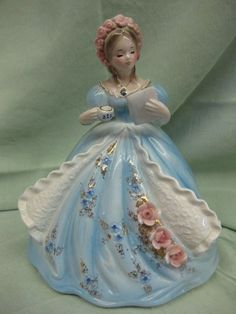 Porcelain Made In China Key: 6487097205 Porcelain Dolls Value, Fine Porcelain, Porcelain Ceramics, Painted Porcelain, Peach Gown, Glass Dolls, Yellow Gown, Indian Dolls, Shabby