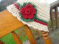 Crocheted Christmas Hat