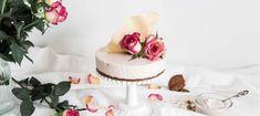 Vadelma-valkosuklaajuustokakku - Reseptit - Arla Vanilla Cake, Yummy Food, Baking, Desserts, Postres, Delicious Food, Patisserie, Bakken, Deserts