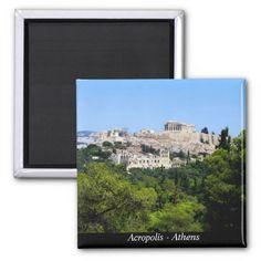 Acropolis – Athens Refrigerator Magnet