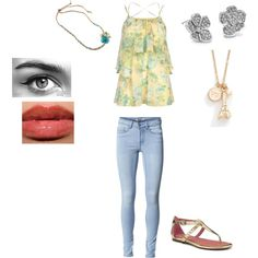 """Untitled #66"" by rebeccahurley on Polyvore"