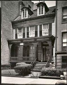 Joralemon Street, No. Brooklyn New York - May 1936 Brooklyn Image, Brooklyn New York, New York City, Brooklyn Brownstone, Brooklyn Bridge, New York Architecture, Berenice Abbott, Brooklyn Heights, Second Empire