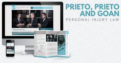We work for clients spanning a variety of industries, including the legal industry. Take a look at our case study for a favorite client of ours, Prieto, Prieto & Goan.  #webdesign #socialmedia #digitalmarketing