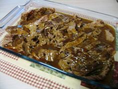 Could use other not so tender beef roasts as well. Mommy's Kitchen: Beef Brisket in Gravy
