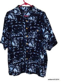 736e60ed Puritan Hawaiian Aloha Shirt (L) #Puritan #Hawaiian Aloha Shirt, Mens Trends