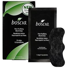Boscia Pore Purifying Black Strips 12 Strips * Click image to review more details.