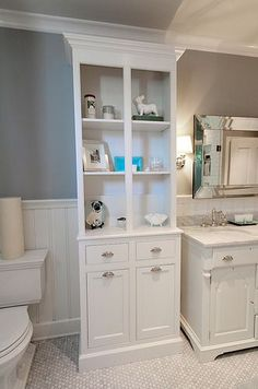 Our Custom Bathroom Cabinets are Finally Complete!